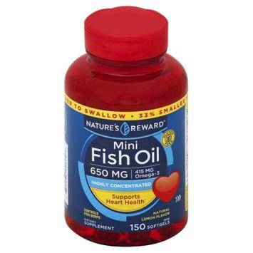 Nature's Reward Mini Fish Oil 150 ct
