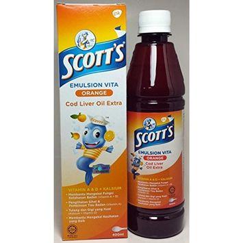 Scott's Emulsion Orange Flavor- 400ml