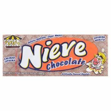 Payaso Nieve Chocolate Sugar Wafers, 7.05 oz