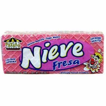 Payaso Nieve Strawberry Wafers, 7.05 oz