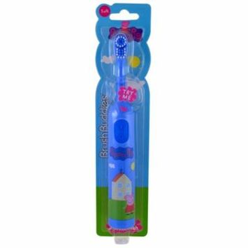 Brush Buddies, Peppa Pig, Electric Toothbrush, Soft , 1 Toothbrush(pack of 12)