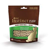 Nature's Variety Instinct Freeze Dried Raw Lamb 3 oz