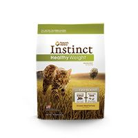 ture's Variety Instinct Healthy Weight Chicken Dry Cat Food