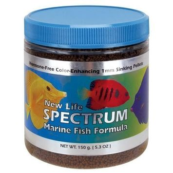 Life Spectrum Marine Fish Formula 1mm Sinking Pellet Fish Food(Natural Color Enhancing)