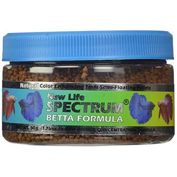Life Spectrum Betta Formula 1mm Semi-Float Pet Food, 50gm