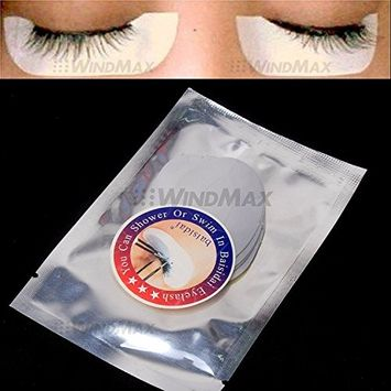 WindMax US Store 20 Pairs Waterproof Under Eye Sticker Pad Patch Lint Free for Eyelash Extension