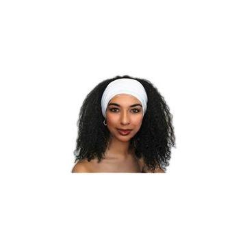 Turban Diva Designs 299-16a Wide Headband-White