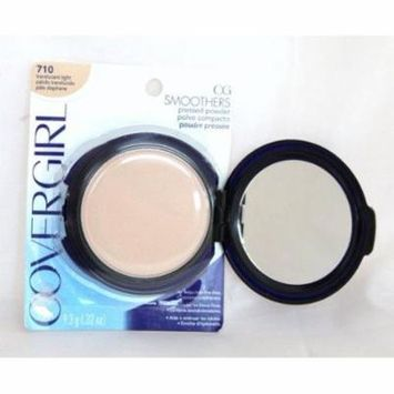 covergirl smoothers pressed powder #710 translucent - light