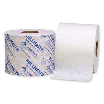 RollMastr 19020 White 1-Ply High Capacity Bathroom Tissue, 4.050
