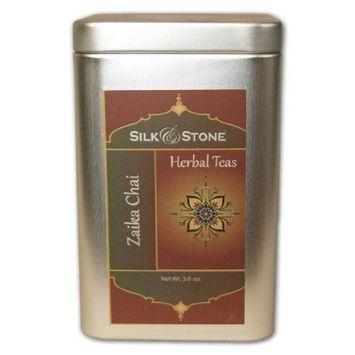 Silk & Stone Organic Zaika (Delicious) Chai (Caffeinated Spiced Chai in a Tin) 3.0oz.