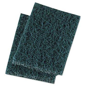Extra Heavy-Duty Scour Pad, 3 1/2 x 5, Blue/Gray, 20/Carton, Sold as 1 Carton, 20 Each per Carton