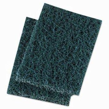 Boardwalk Extra Heavy-Duty Scour Pad, 3 1/2 x 5, Blue/Gray (BWK188)