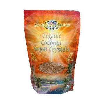 Earth Circle Organics Coconut Sugar Crystals -- 14 oz