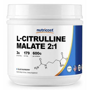 Nutricost L-Citrulline Malate 2:1 (600 Grams) (Blue Raspberry)