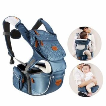 TMISHION 3 Colors Adjustable Baby Infant Hip Seat Carrier Breathable Ergonomic Wrap Sling Backpack, Baby Carrier, Baby Sling Wrap