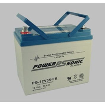 Replacement for 6258-BATTERY 12 VOLT / 35.0AH MEDICAL BATTERY