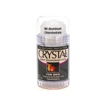 Crystal Deodorant Stick Mens 4.25 oz. (Case of 6)
