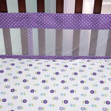 NoJo Harmony Mesh Crib Liner (Discontinued by Manufacturer)