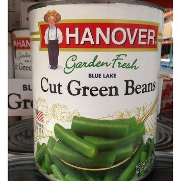 HANOVER blue lake cut green beans 102 oz