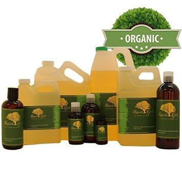 48 Fl.oz Liquid Gold Rice Bran Carrier Oil 100% Pure & Organic for Skin Hair and Health