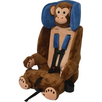 Sentry Baby Products Guardimals 3-in-1 Harness Booster Car Seat, Monkey