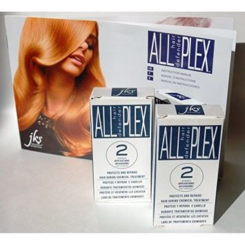 ALL hd PLEX Hair Bond Treatment 2 Pack for All Hair Types. Amazing Results on Bleaching, Coloring, Toning, Perming, Relaxers, and other Hair Chemical Services. Immediate Results!
