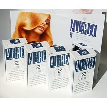 ALL hd PLEX Bond Treatment Kit for Bleaching, Coloring, Toning, Perming, Relaxers & other chemical hair services. Protects & Improves All Hair types...