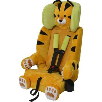 Sentry Baby Products Guardimals 3-in-1 Harness Booster Car Seat, Tiger