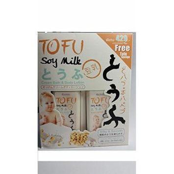 Tofu Soy Milk Cream Bath & Body Lotion
