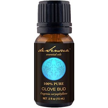 Clove Bud Essential Oil, 100% Pure - For Professional Aromatherapists (For Home Use, see Warnings) 15 mL