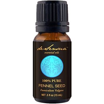 Fennel Seed Essential Oil, Sweet - 100% Pure - For Professional Aromatherapists (For Home Use, see Warnings) - 15 ml