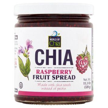 Space Enterprises Llc World Of Chia, Spread Chia Raspberry, 11.3 Oz (Pack Of 6)