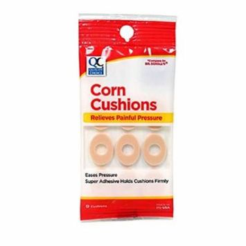 Quality Choice Corn Cushions Painful Pressure Relief 9 Count Each