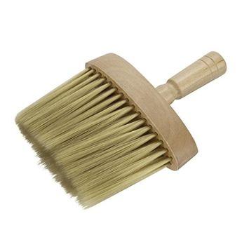 lotus.flower New Salon Stylist Barber Neck Face Duster Soft Brush Hairdressing Hair Cutting Brush (1015cm)