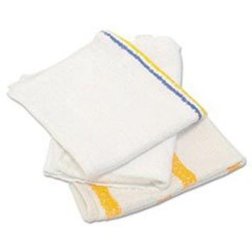 Counter Cloth/Bar Mop, Value Choice, White, 25 Pounds/Bag
