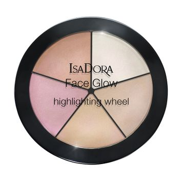 IsaDora Face Glow Highlighting Wheel Champagne Glow