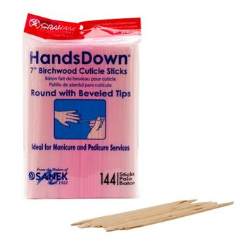 Graham Hands Down Birchwood Cuticle Sticks
