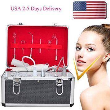 Pevor 5 IN 1 Galvanic Facial Brush Vacuum Spray Beauty Machine Anti-aging Anti-wrinkles Multifunction Salon Machine