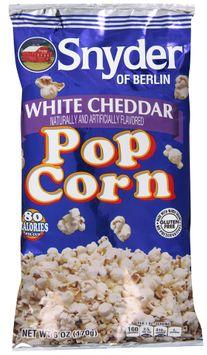 snyder of berlin® white cheddar popcorn