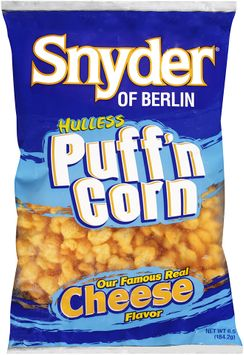 Snyder® of Berlin Popcorn Puffed Hulless Cheese