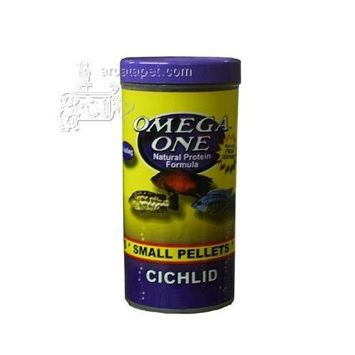 Omega One Cichlid Small Pellets 3.5 Oz