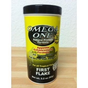 Omega One First Flakes 2.2oz.