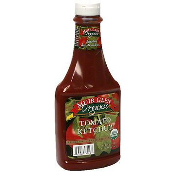 Muir Glen Tomato Ketchup, 24 oz (Pack of 12)