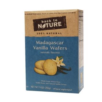 Back to Nature Madagascar Vanilla Cookie, 9 oz