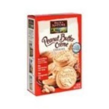 Back To Nature 100% Natural Peanut Butter Creme Cookies