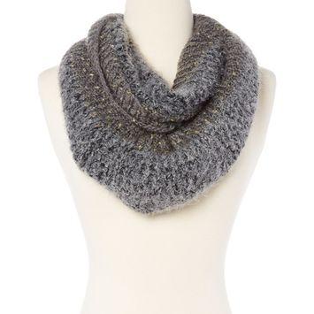 Amtal Women Chunky Knit Soft & Lightweight Crochet Infinity Scarf - 4 Colors