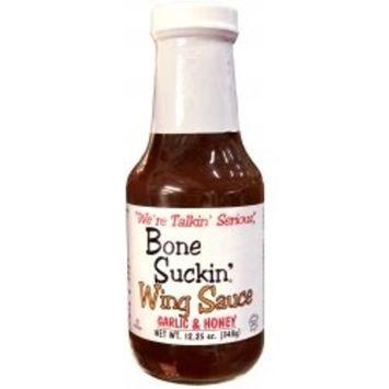 Bone Suckin' Wing Sauce - Garlic & Honey 12.25oz
