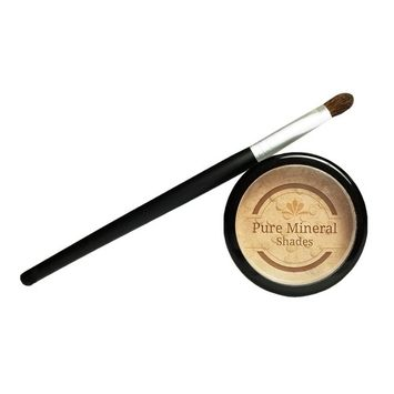 Root Touch Up Powder, All-Natural Luxury Root Concealer With Brush, Crushed Minerals, Fast and Easy Total Grey Hair Cover Up For Dark, Brown and Blonde Hair .32 Ounce (Medium Blonde)