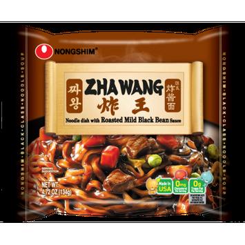 Nongshim Zhawang Noodle, 4.72 Oz, 4 Ct (Pack of 24)