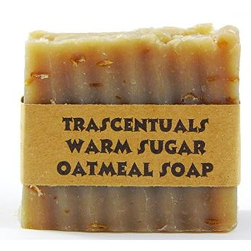 Oatmeal Soap Naturally Moisturizing and Soothing to Skin Safe on Face or Body Helps with Eczema and Dry Skin For Women Men and Teens Chemical Free